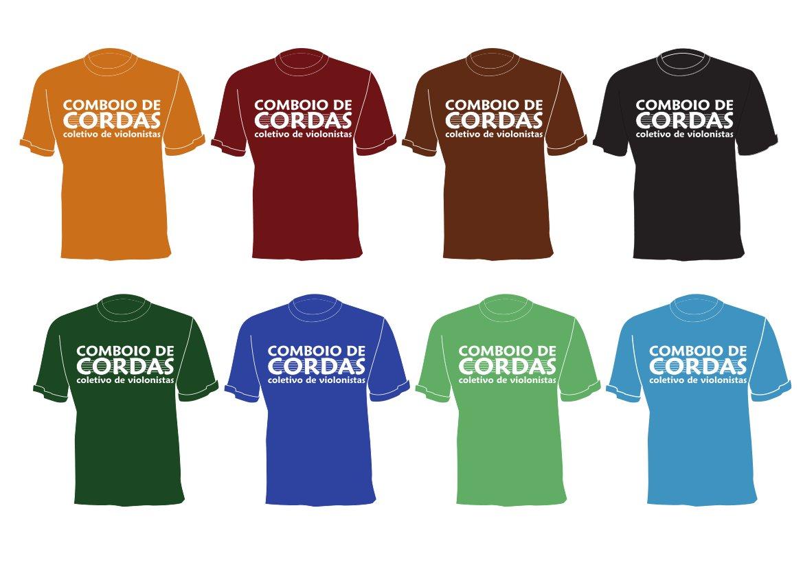 camisetas cores