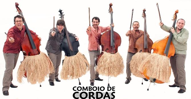 Orquestra de Contrabaixos Tropical no Comboio de Cordas 17/maio/2011