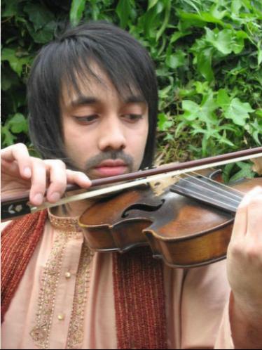 Kartik Raghunathan (violino/vocal) - Inglaterra