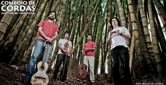 Show Quarteto Pererê: Comboio de Cordas no Cultura Livre SP 29/out/2011