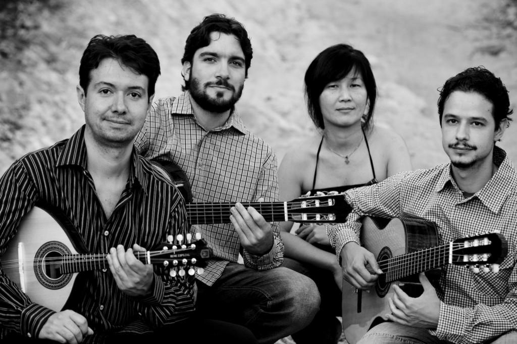 Show Quarteto Garatuja: Comboio de Cordas no Cultura Livre SP 20/nov/2011