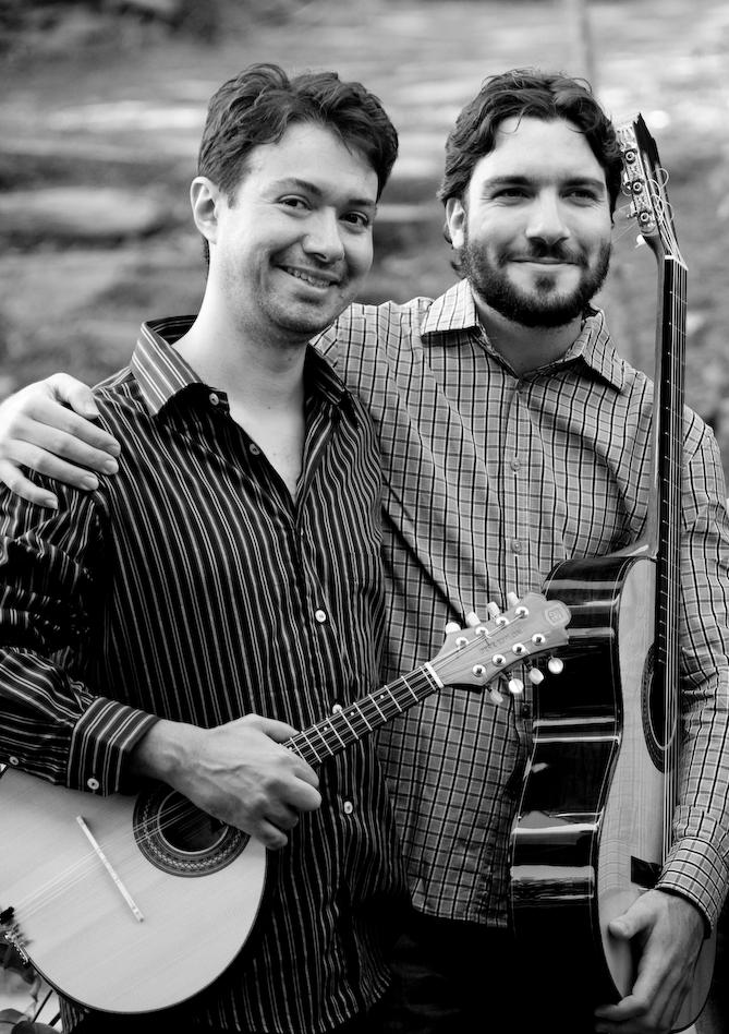 Duo Alexandre Cueva e Leonardo Costa no Comboio de Cordas 22/nov/2011