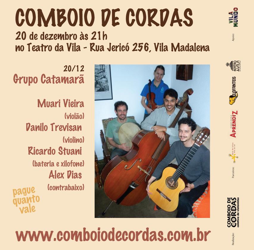 Quarteto Catamarã no Comboio de Cordas 20/dez/2011
