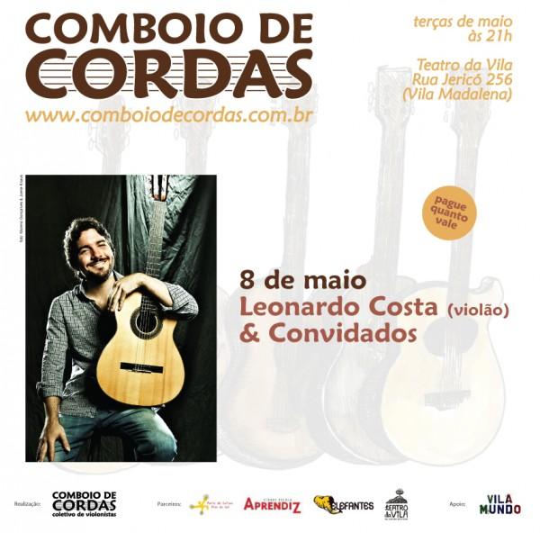 Leonardo Costa e convidados no Comboio de Cordas 08/maio/2012