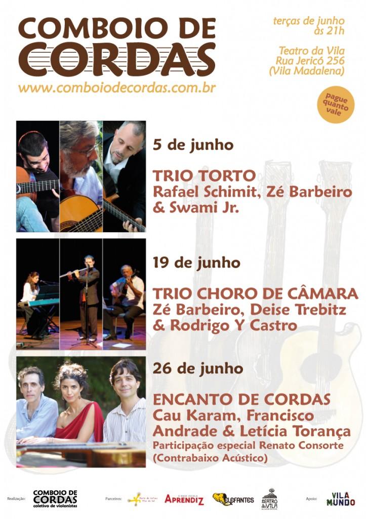 10ª Temporada do Comboio de Cordas no Teatro da Vila - junho 2012