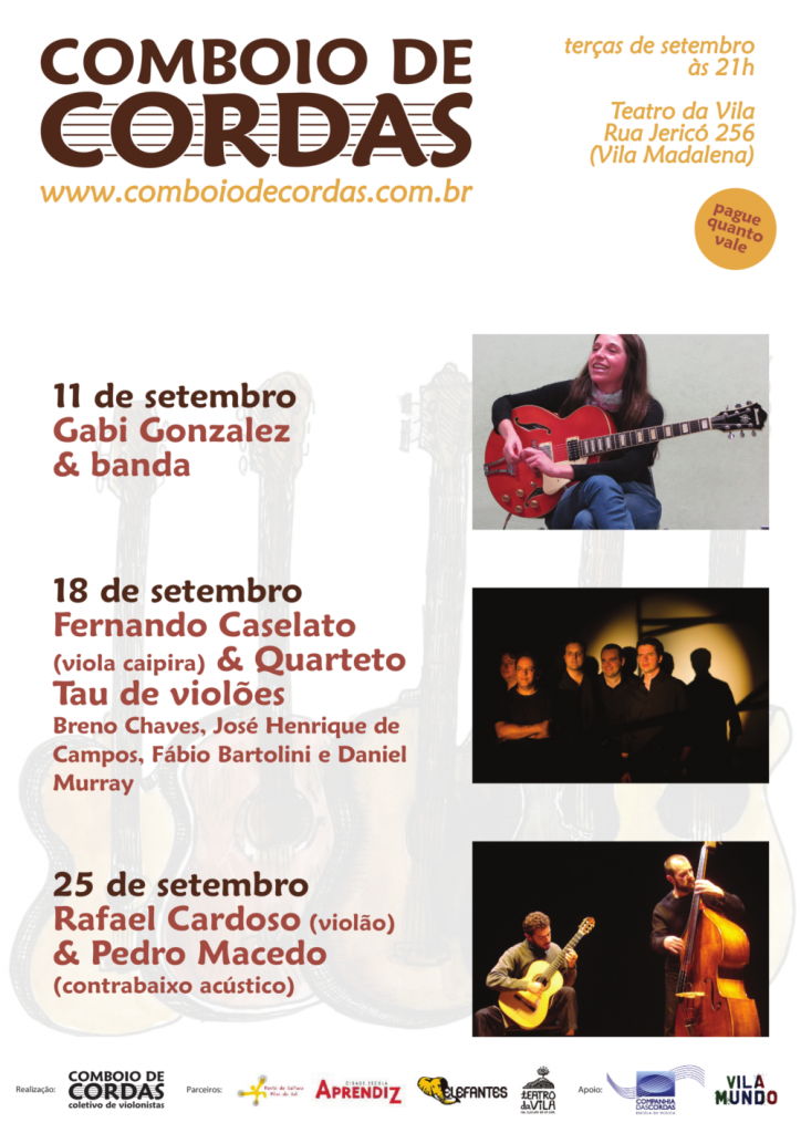 11ª/12ª Temporada Comboio de Cordas no Teatro da Vila setembo/2012