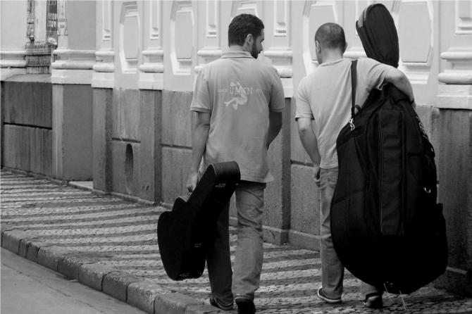 Duo Rafael Cardoso & Pedro Macedo no Comboio de Cordas 25/ago/2012 - Foto by Guto Abrahao
